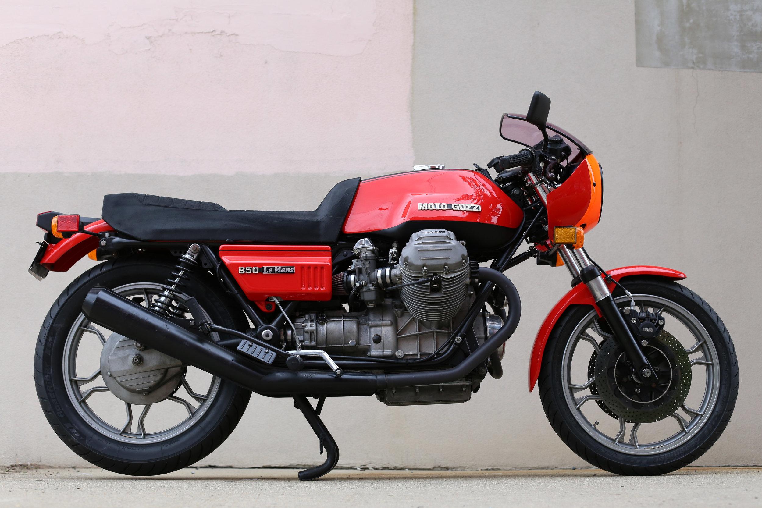 1977 Moto Guzzi Le Mans 1 Sold Motorcycles