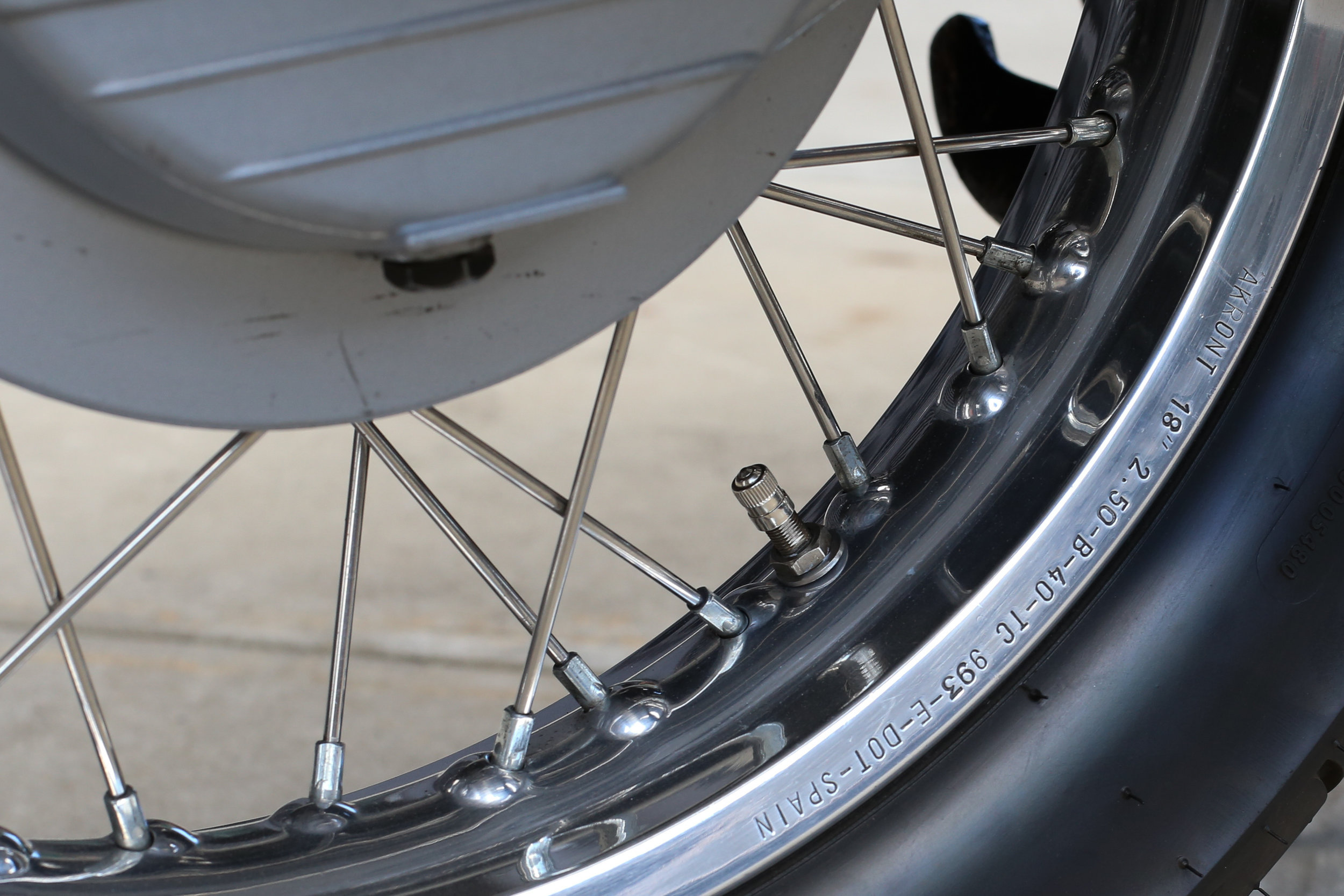 1991 Moto Guzzi 1000S Wheel Serial