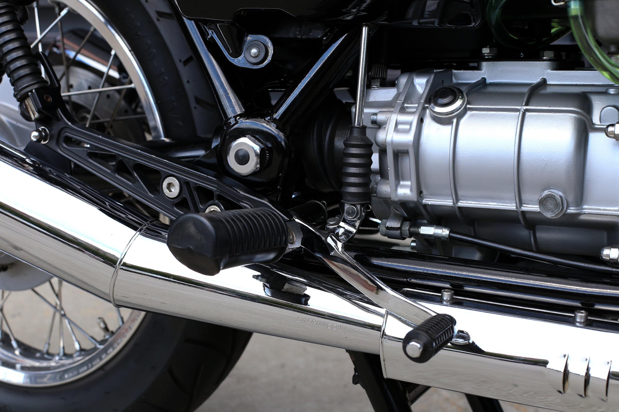 1991 Moto Guzzi 1000S Rear Set Shifter Brake