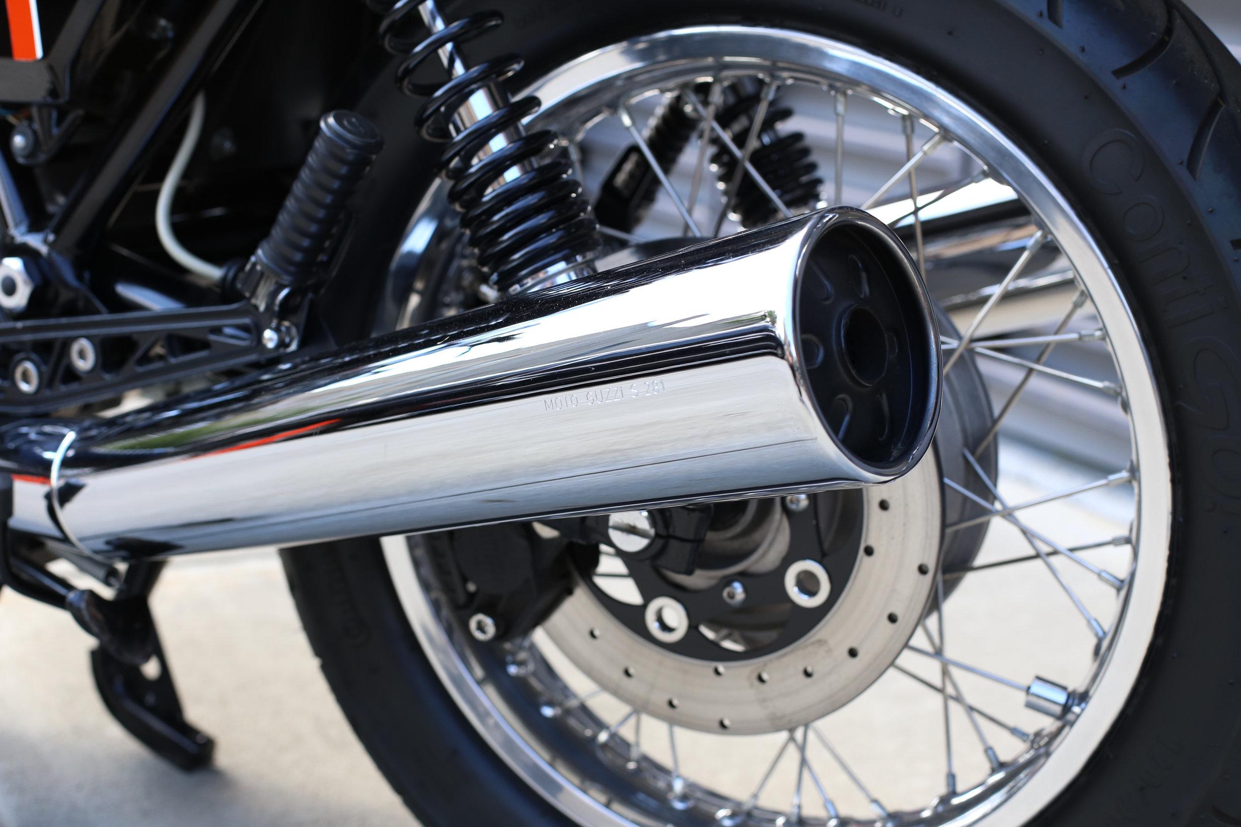 1991 Moto Guzzi 1000S Pipes