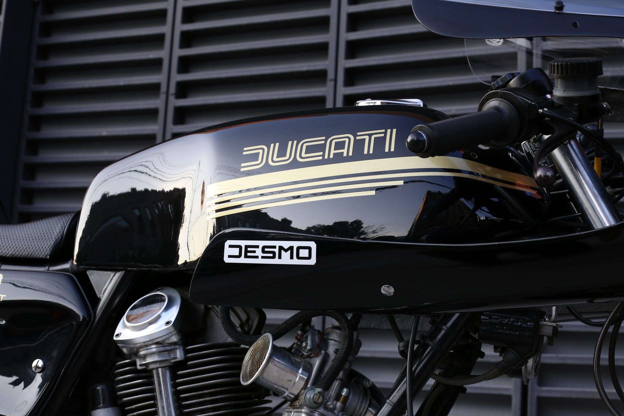 1980 Ducati 900SS Tank