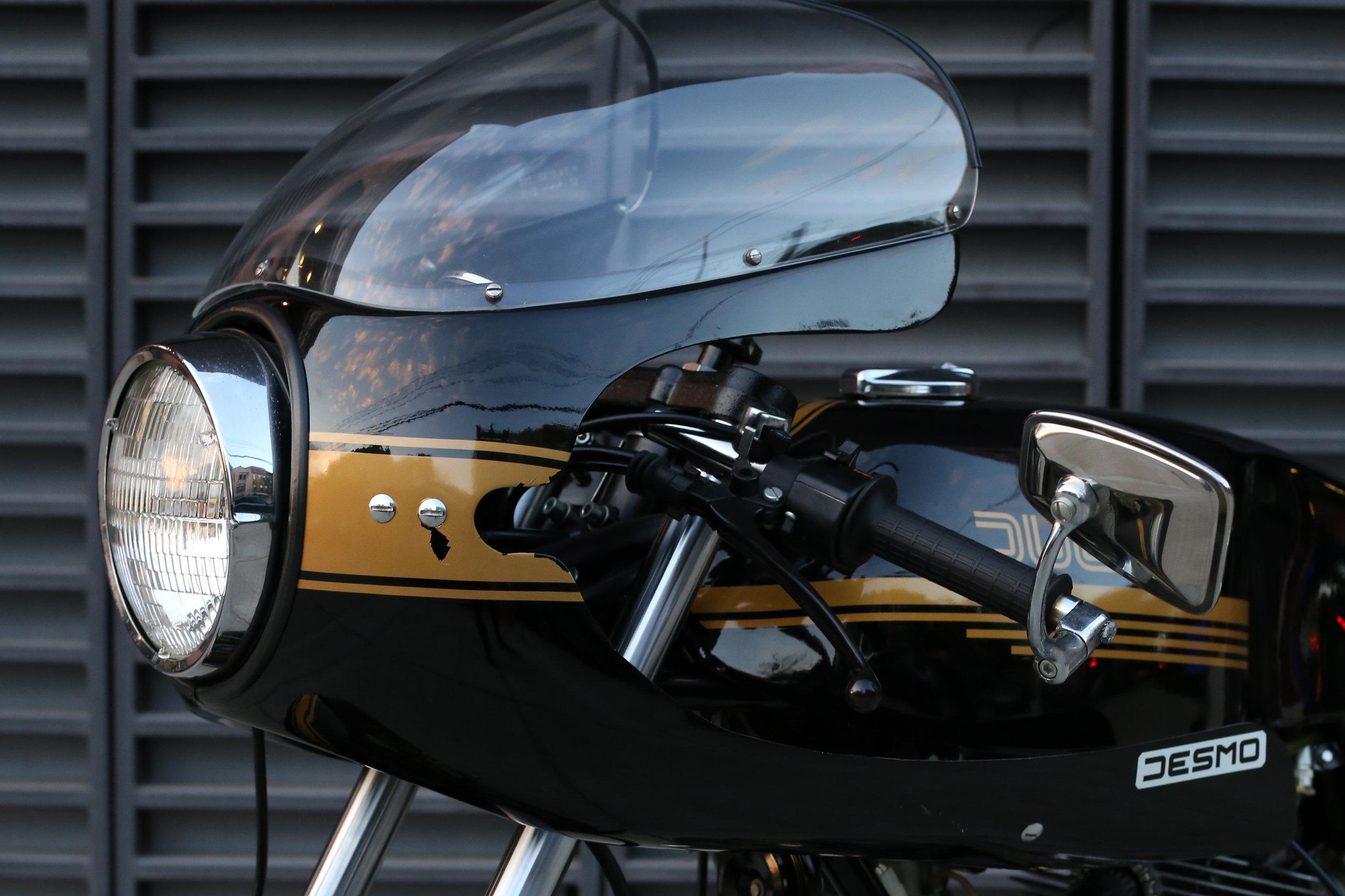 1981 Ducati 900SS bubble windshield
