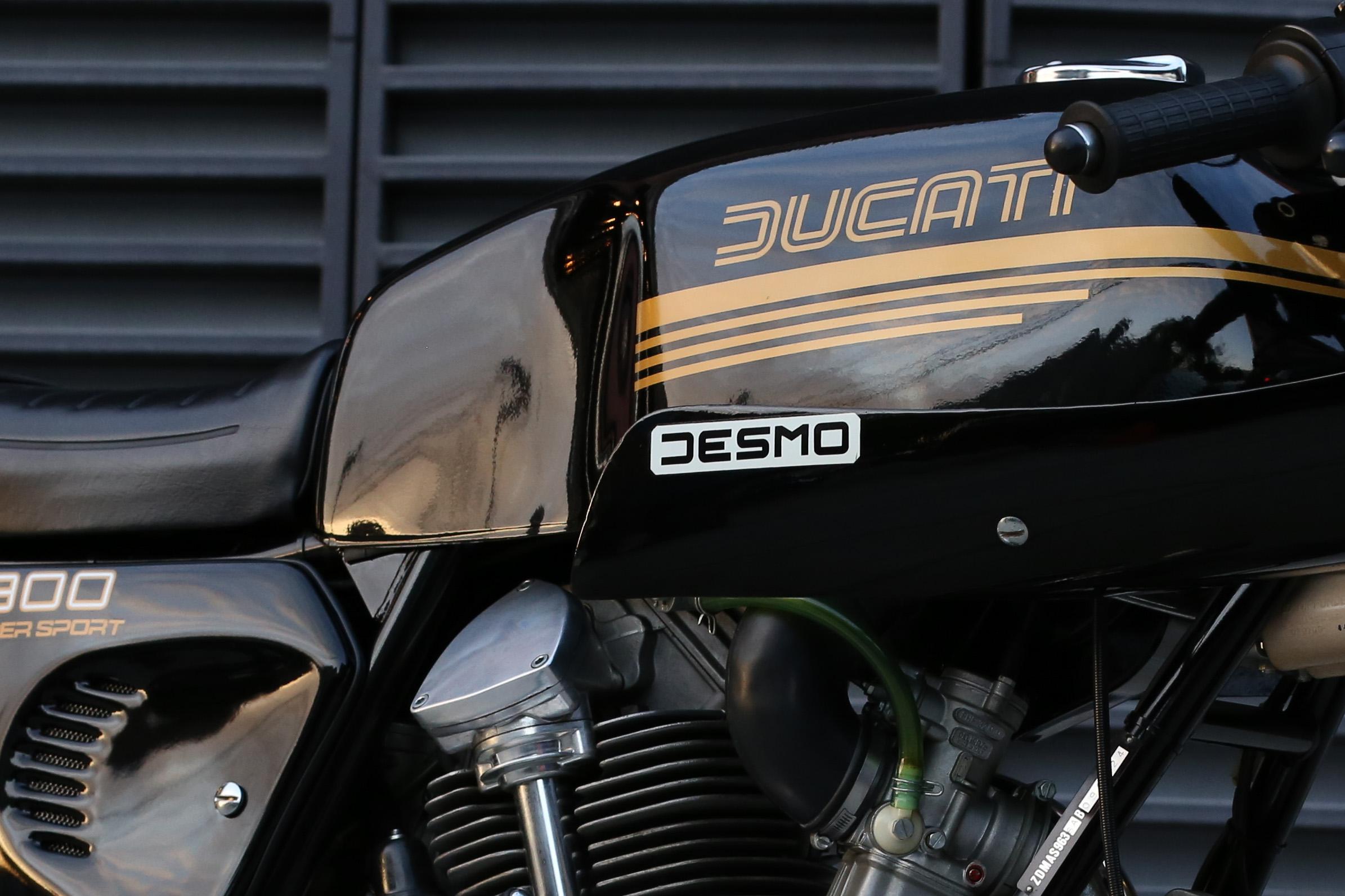 1981 Ducati 900ss original paint