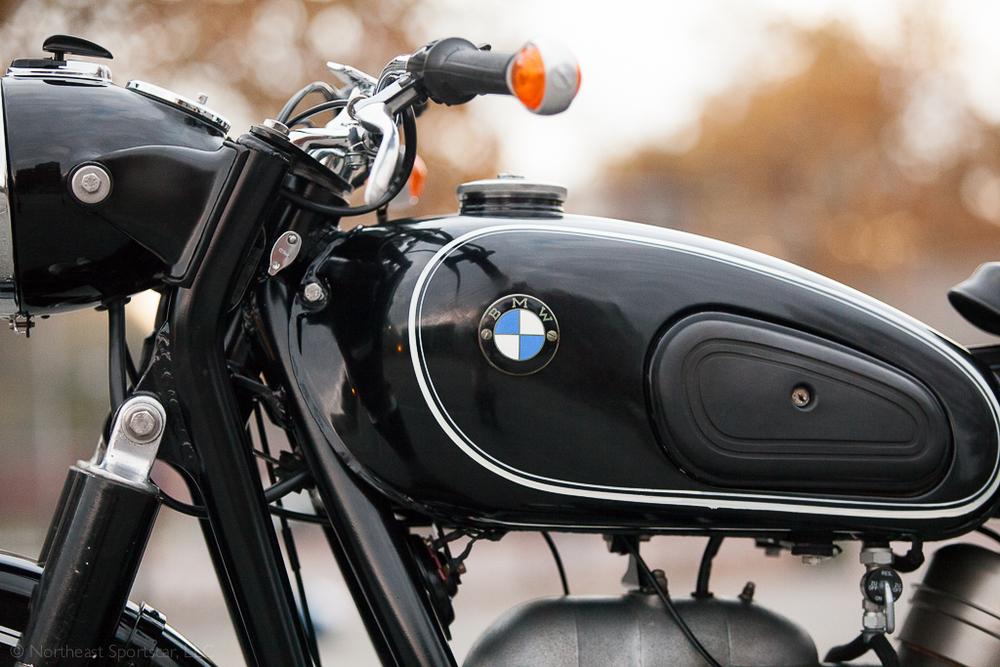 1964 BMW R60/2 tank