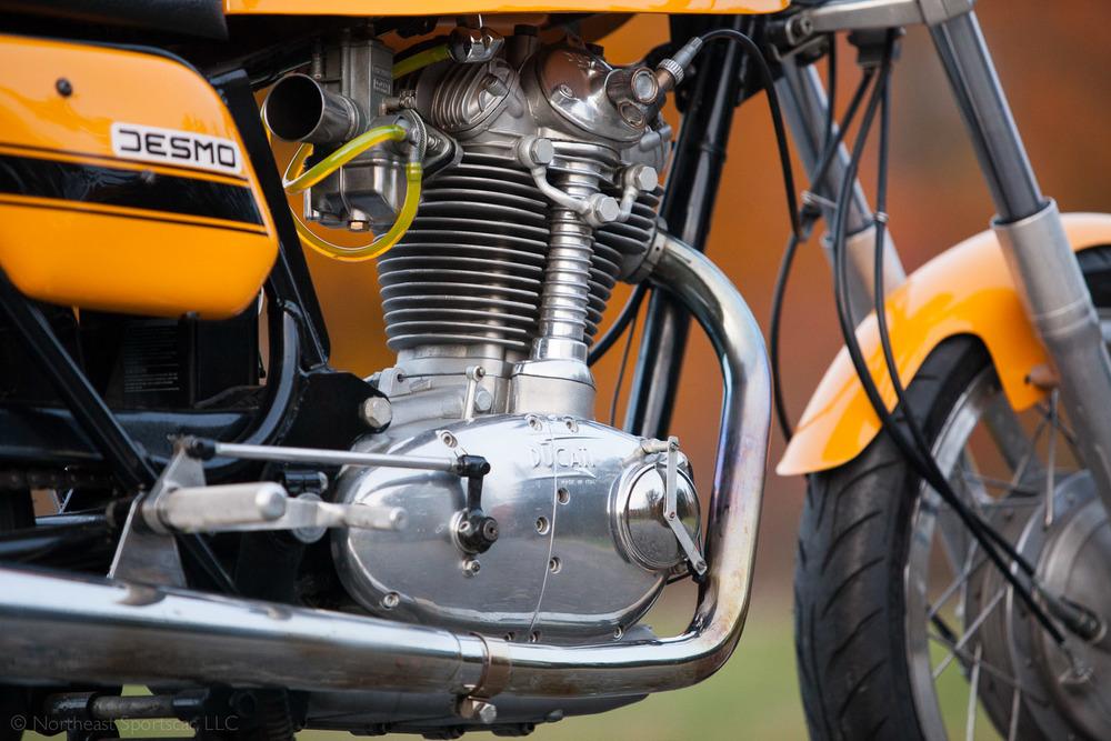 1973 Ducati 450 motor