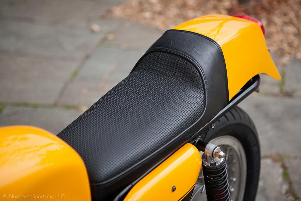 1973 Ducati 450 seat