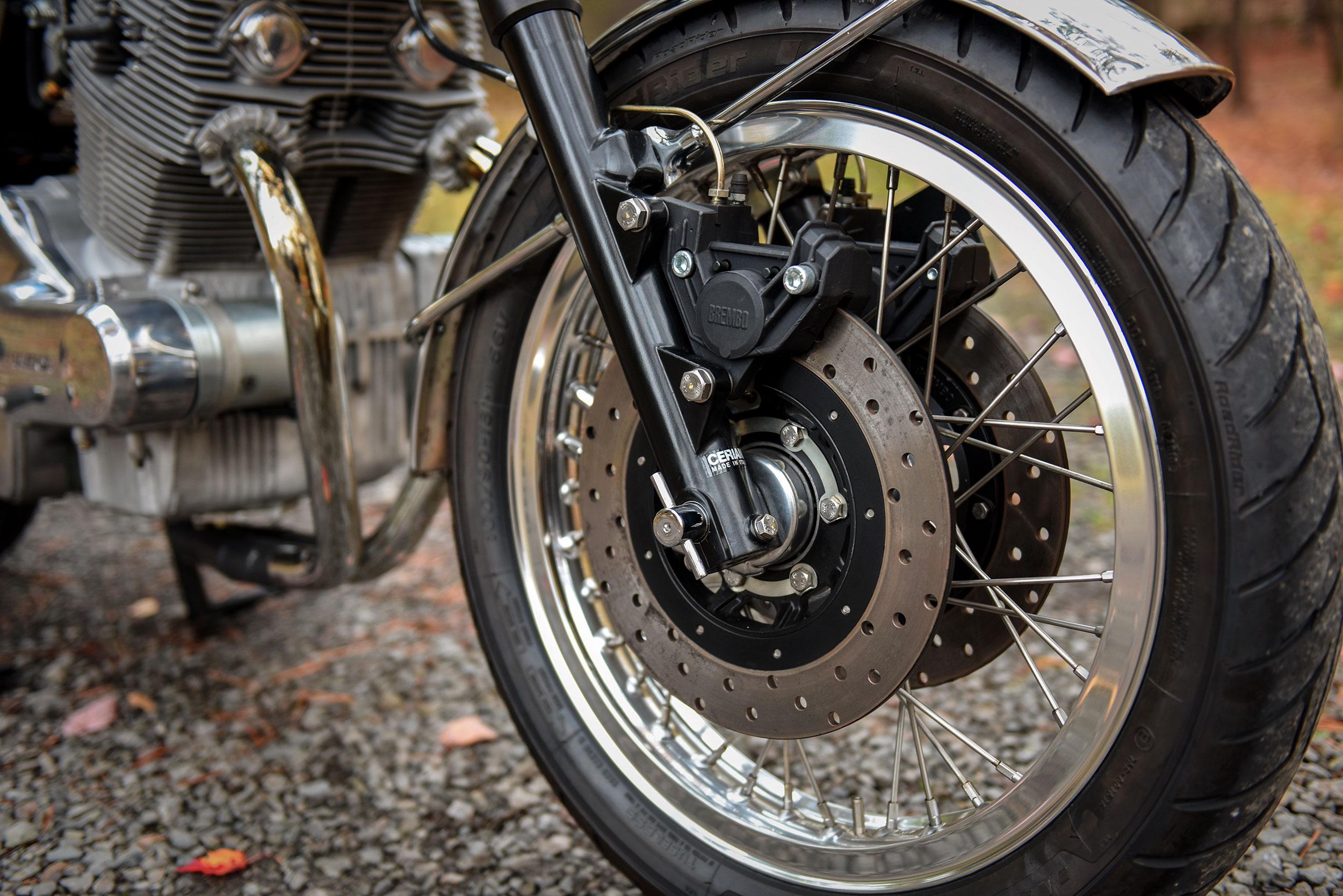 Laverda SFC 2 Custom Motorcycle Moto Borgotaro Breaks