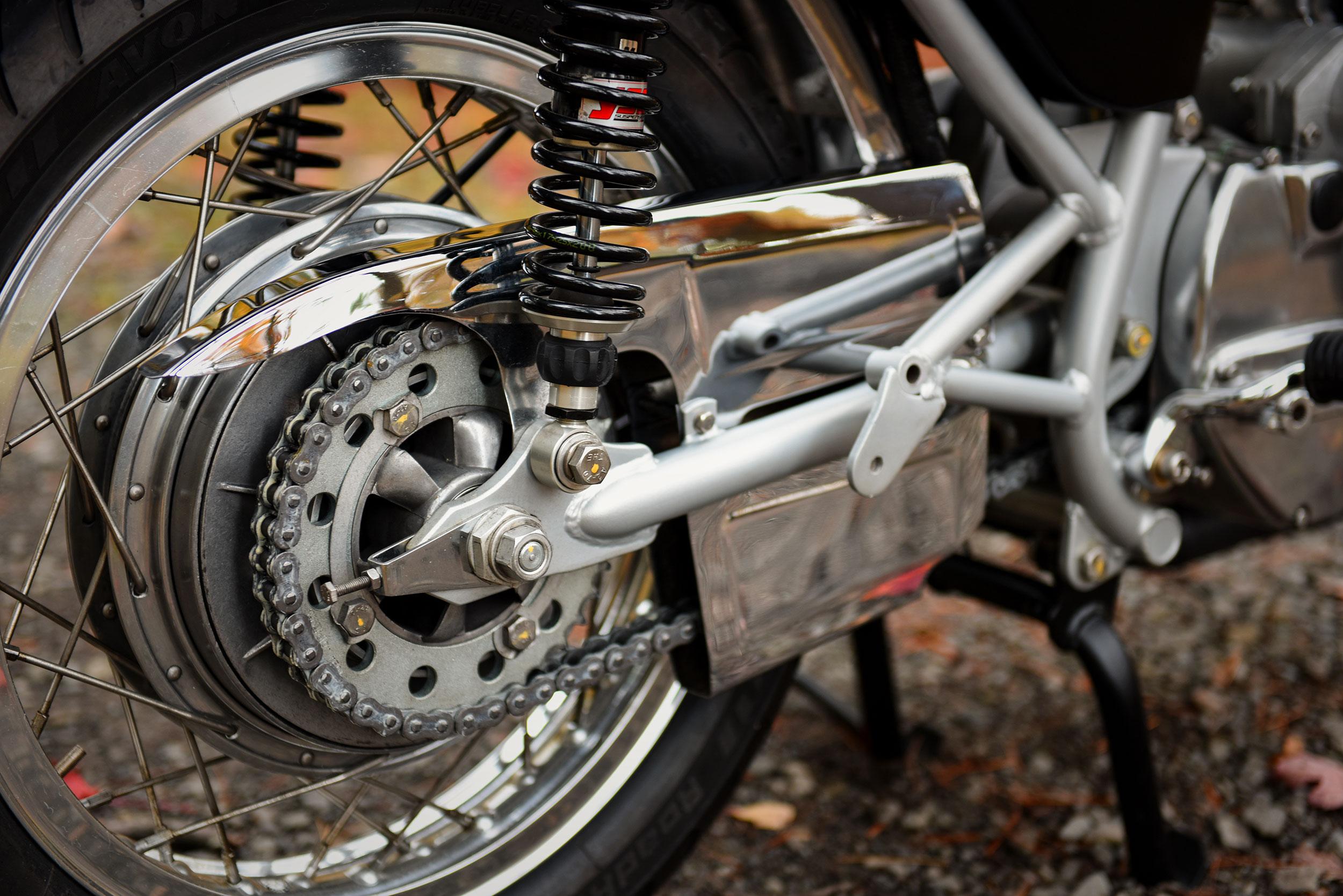 Laverda SFC 2 Custom Motorcycle Moto Borgotaro Chain