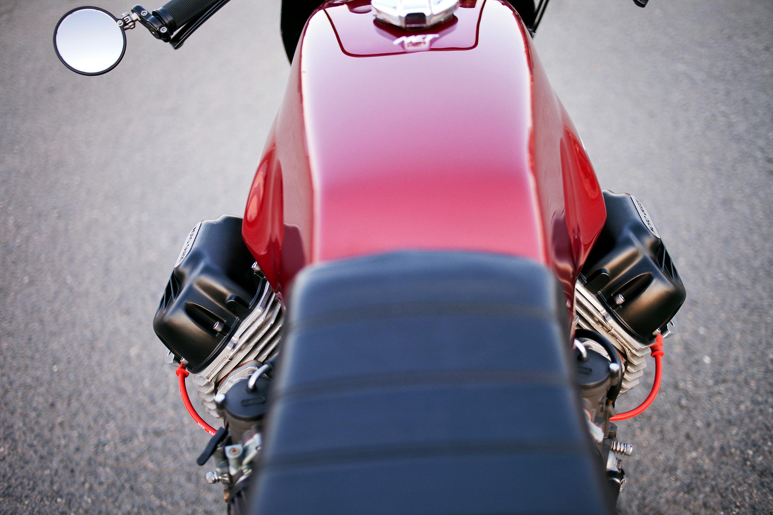 1977 Moto Guzzi lemans 1 custom tank paint
