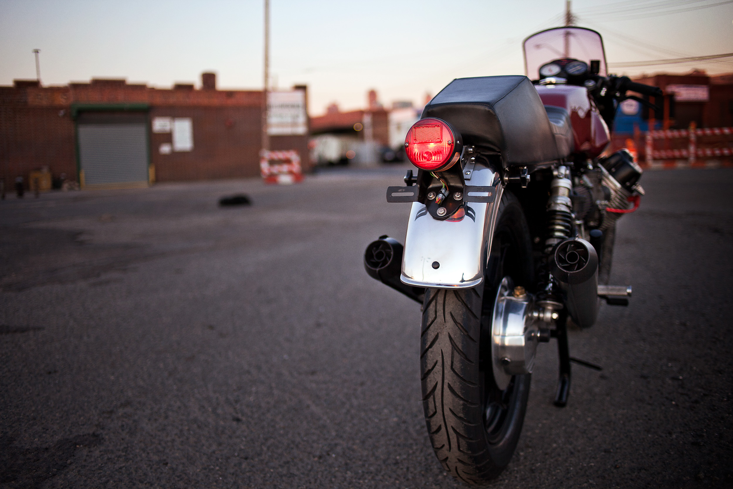 1977 Moto Guzzi lemans 1 custom lafranconi exhaust