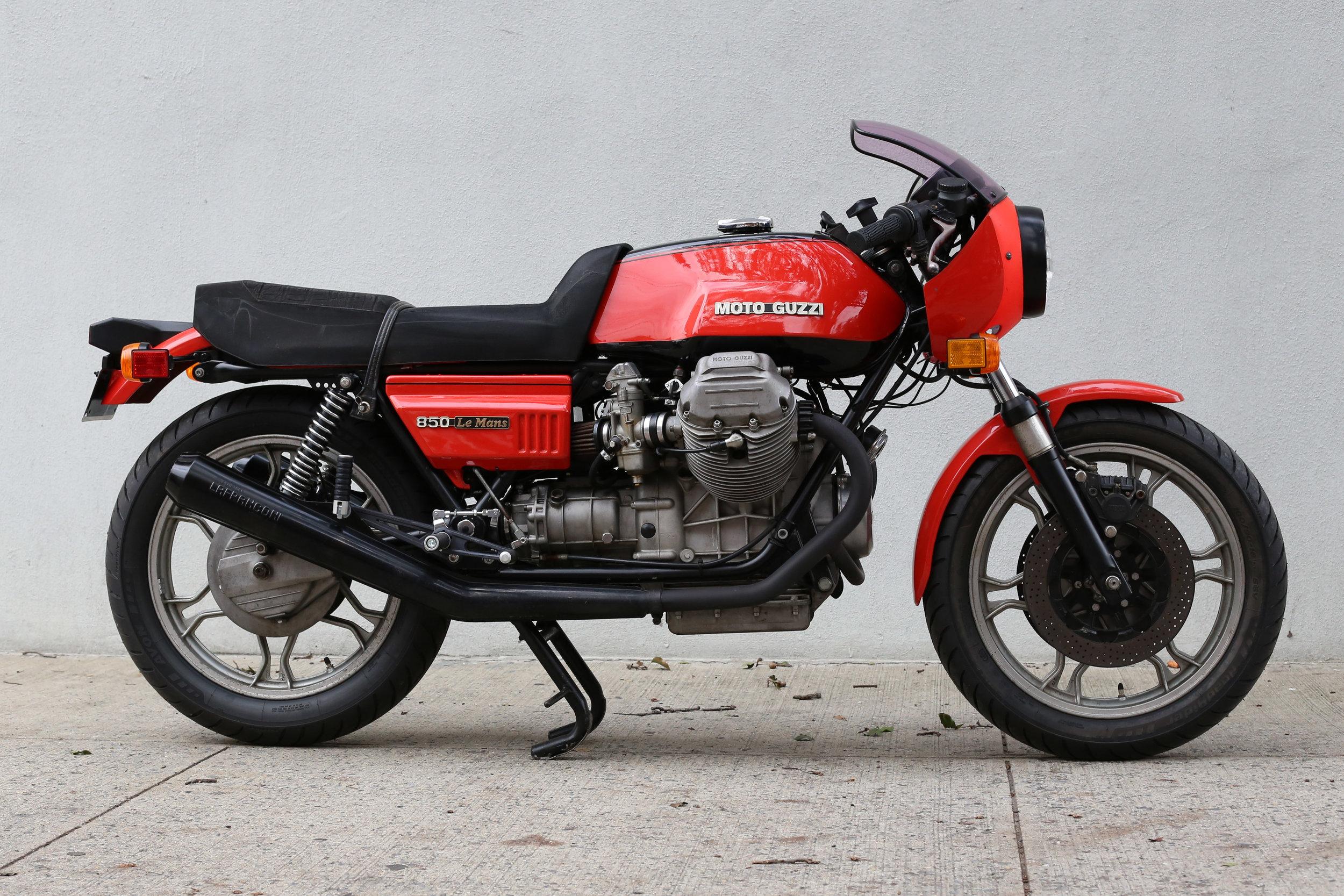 1978 Moto Guzzi Lemans 1