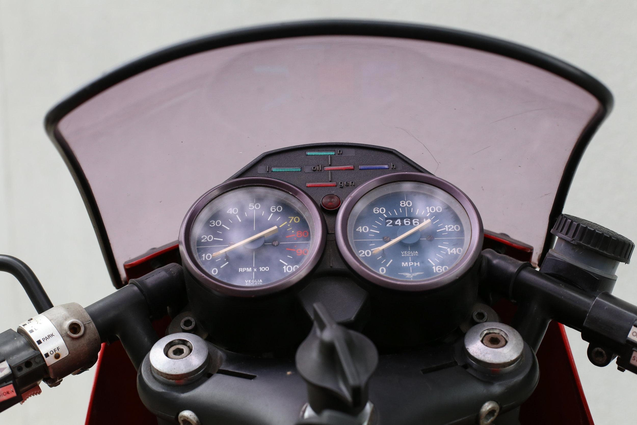 1978 Moto Guzzi Lemans 1 speedo
