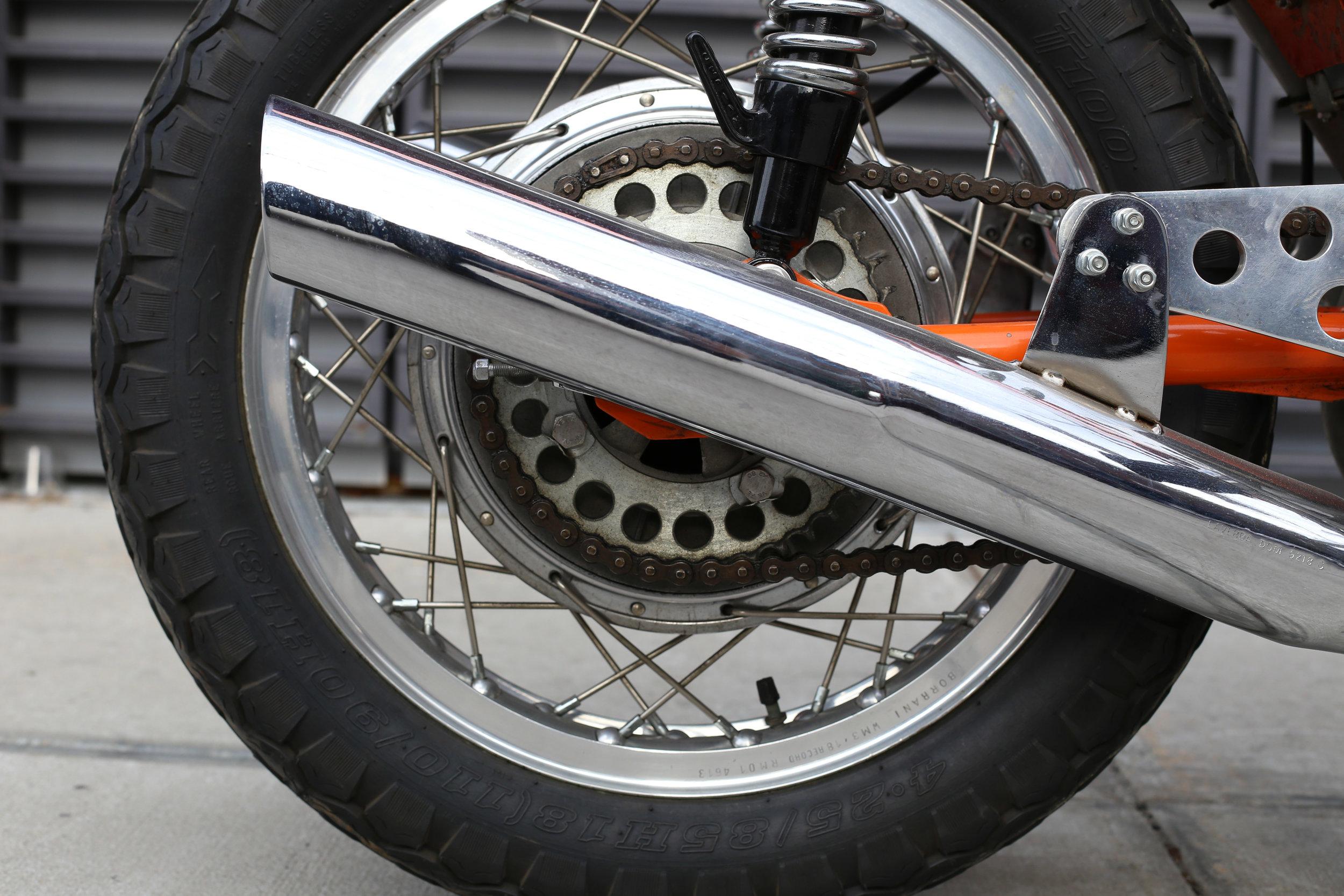 Laverda SFC Rear Wheel