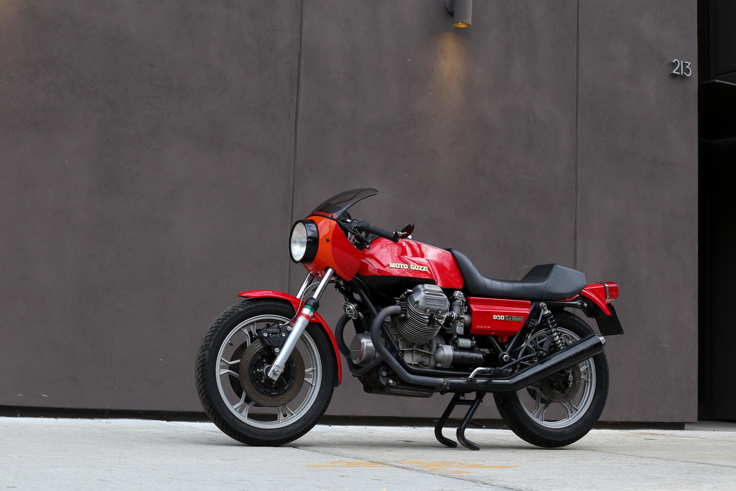 1976 Moto Guzzi 850 Lemans 1 Sold Motorcycles