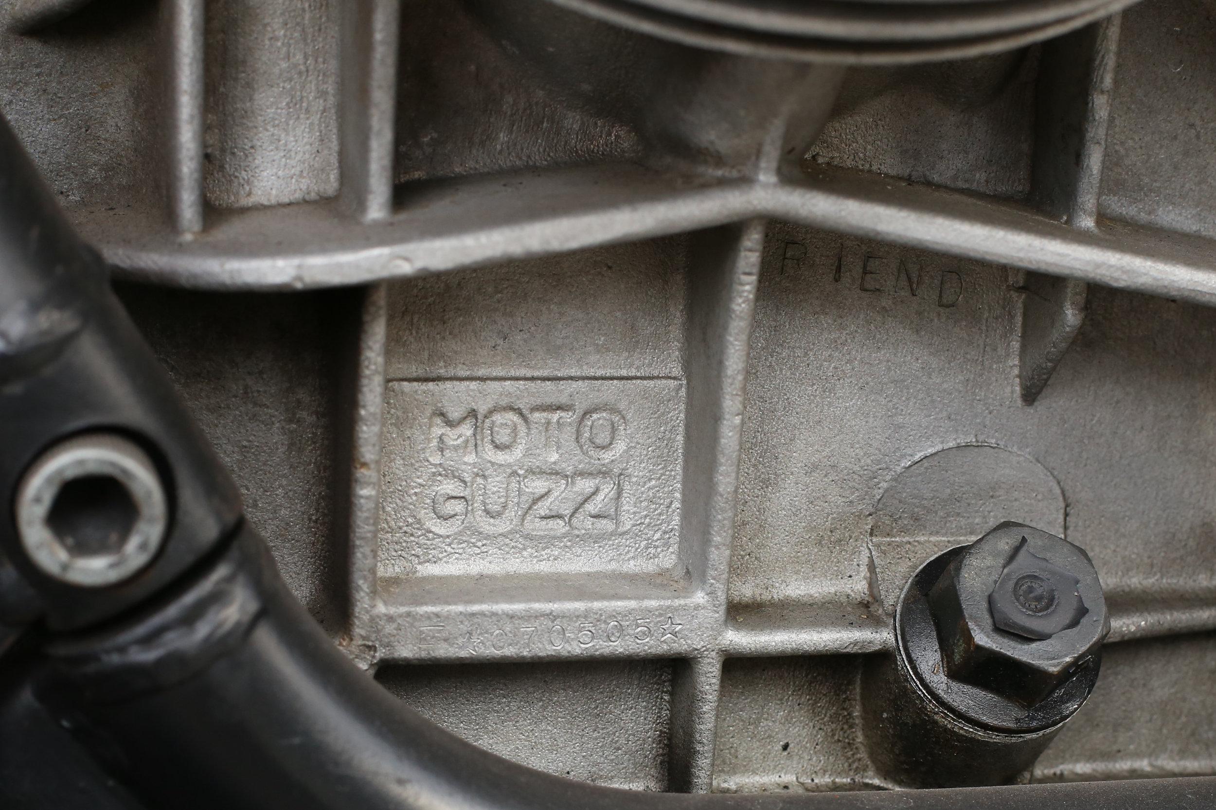 1976 Moto Guzzi Le mans 1 vin