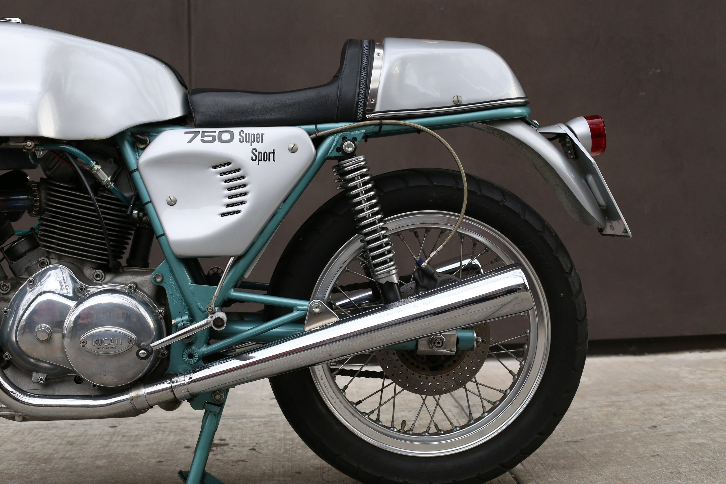 1974 ducati 750ss green frame moto borgotaro
