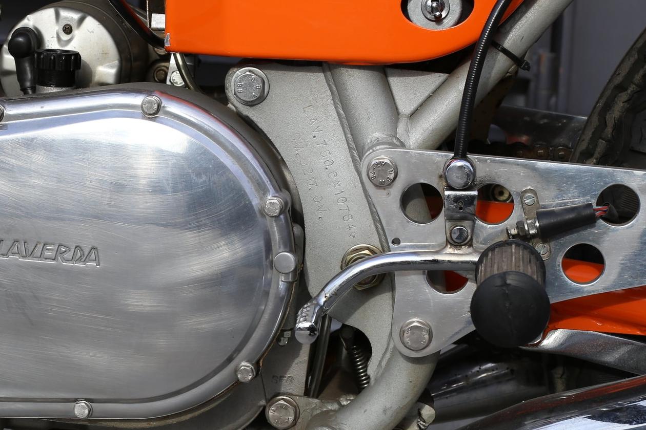 1972 SFC Laverda frame number