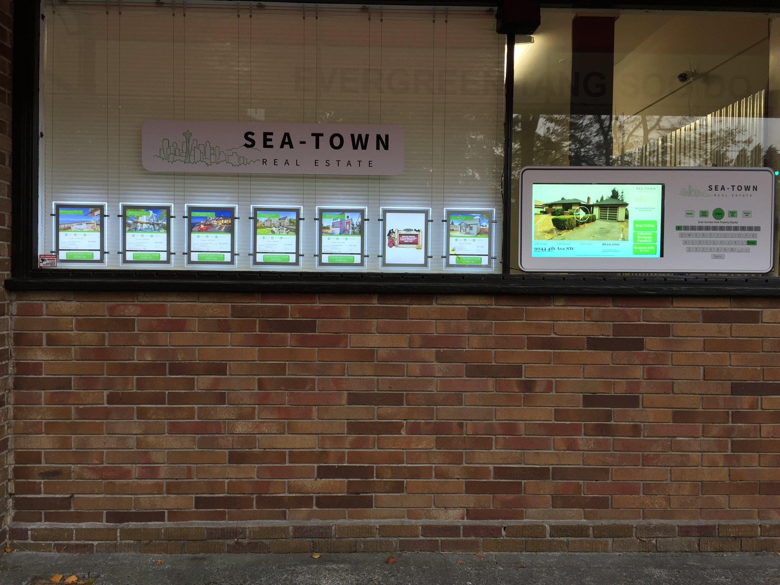 Sea-Town Real Estate - interactive display window.JPG