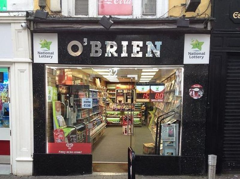 O'Brien Newsagents - William Street, Galway