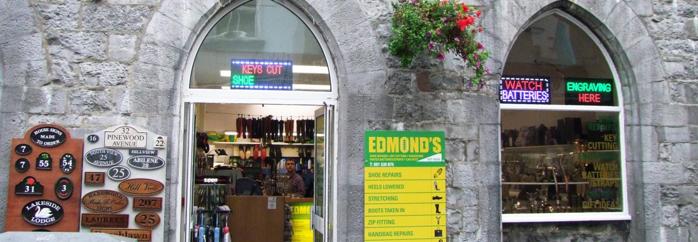 Edmond's Shoe Repair - Lower Abbeygate Street, Galway