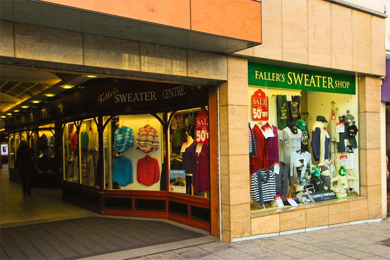 Fallers Sweater Shop - Williamsgate Street, Galway