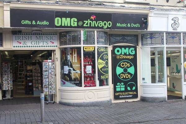 OMG@zhivago - Shop Street, Galway