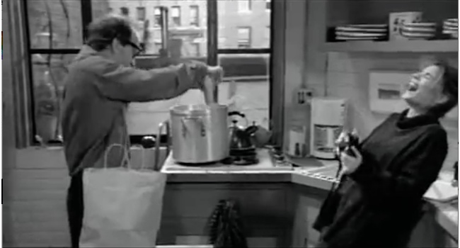 Annie Hall Lobster Scene with Corn