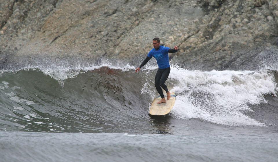 AM-JAM Longboard Champion, Stephen Melidossian
