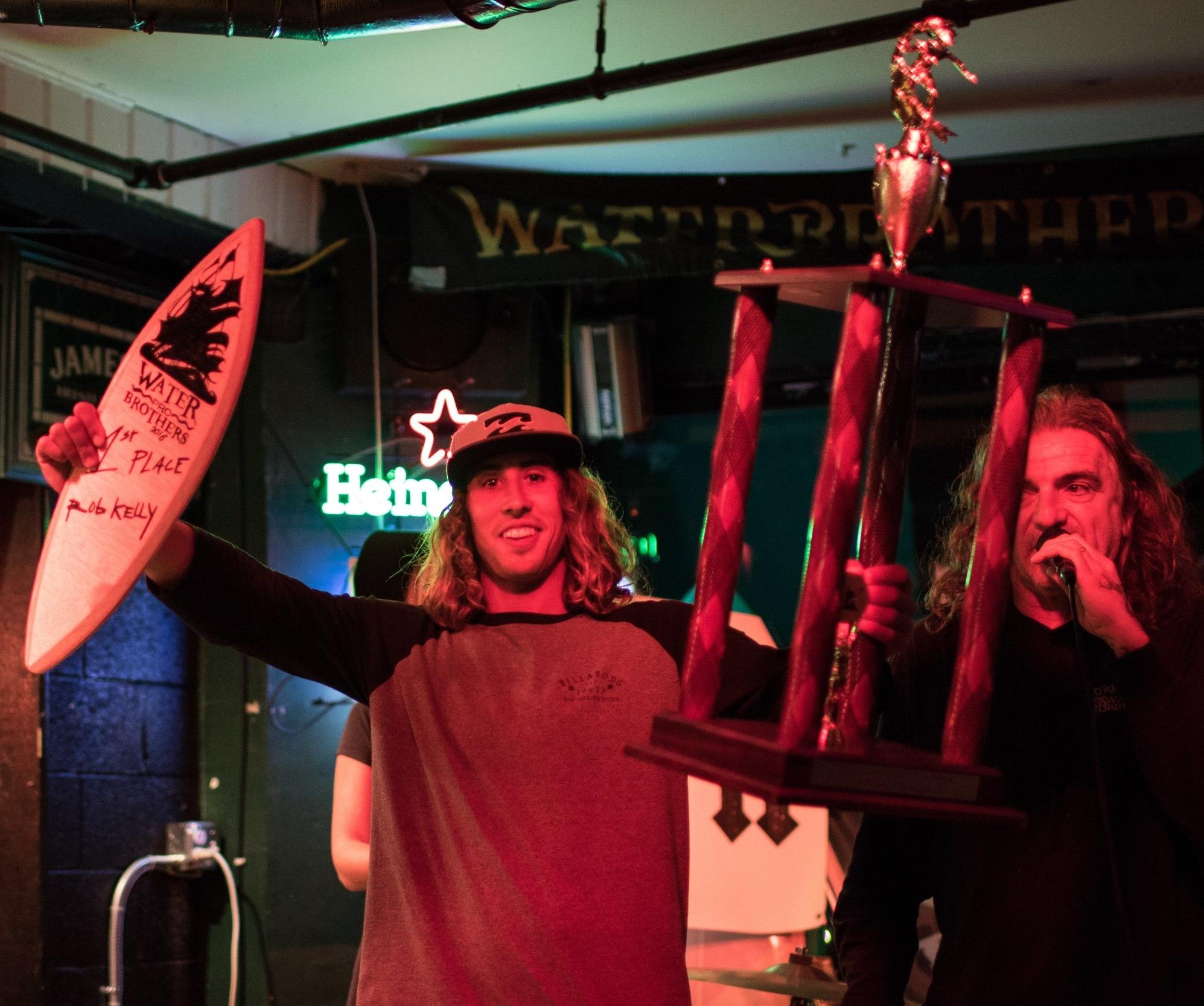 Winner, Rob Kelly photo: Patrick Murphy , The Kings Lens