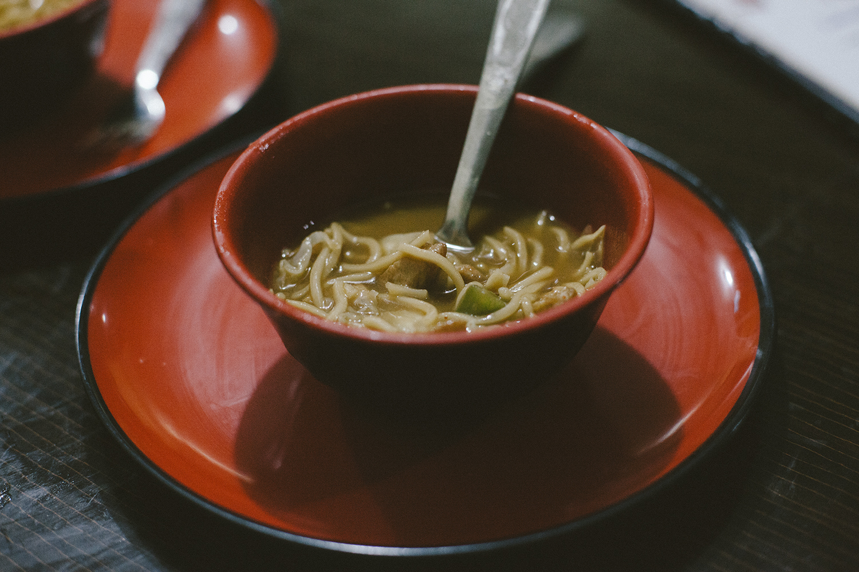 Thukpa noodles