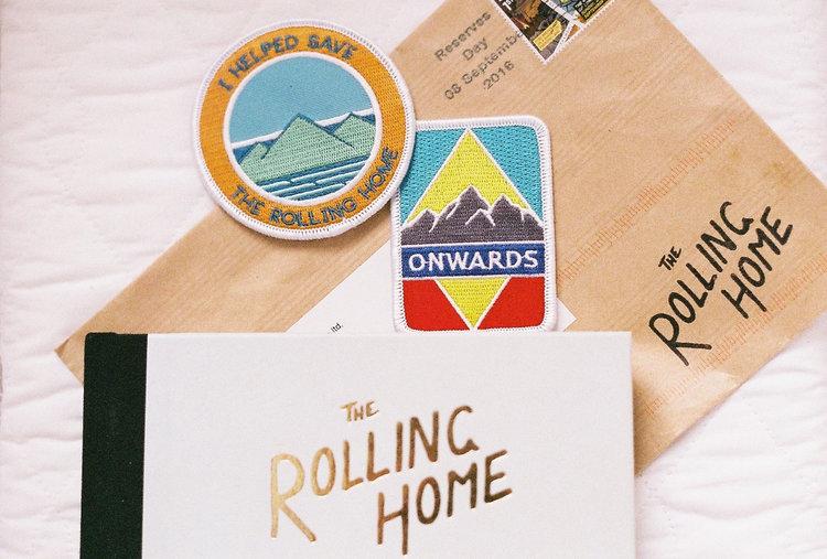 The Rolling Home Book Handzaround