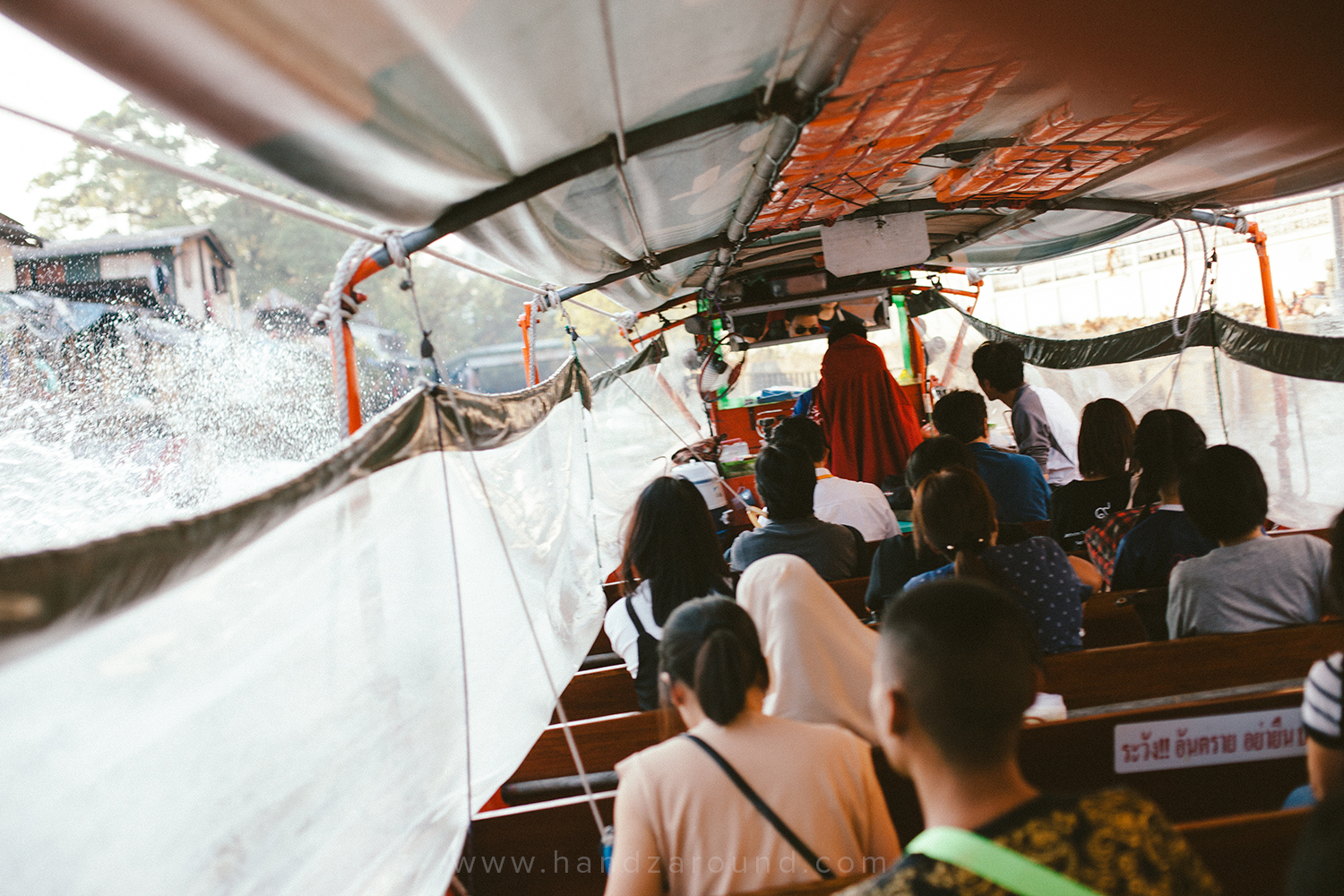 The Bangkok hospital might have been posh, but instead of taking a posh way of transport, such as taxi, and standing in the traffic, you'll be better off jumping on to a water taxi that skips the traffic and lets you walk to the hospital in less than 5 minutes!
