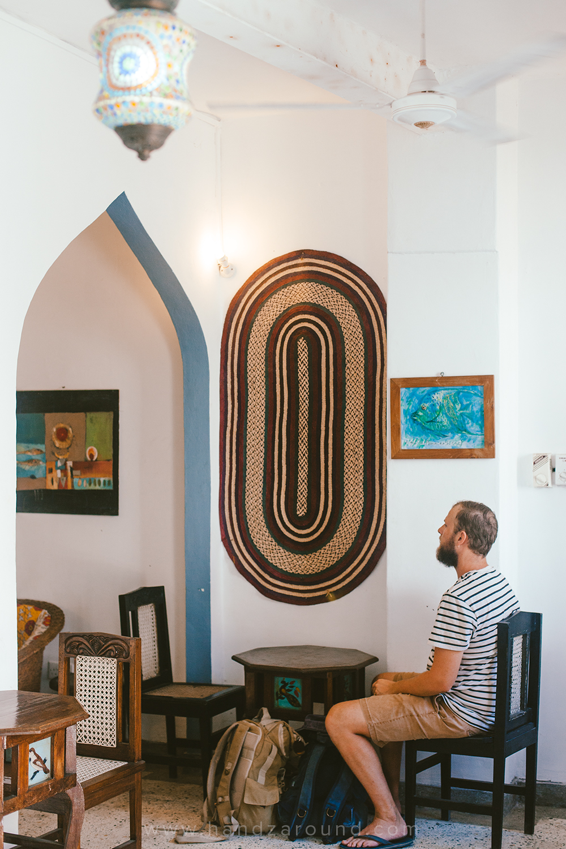 Inside Jahazi Coffee House