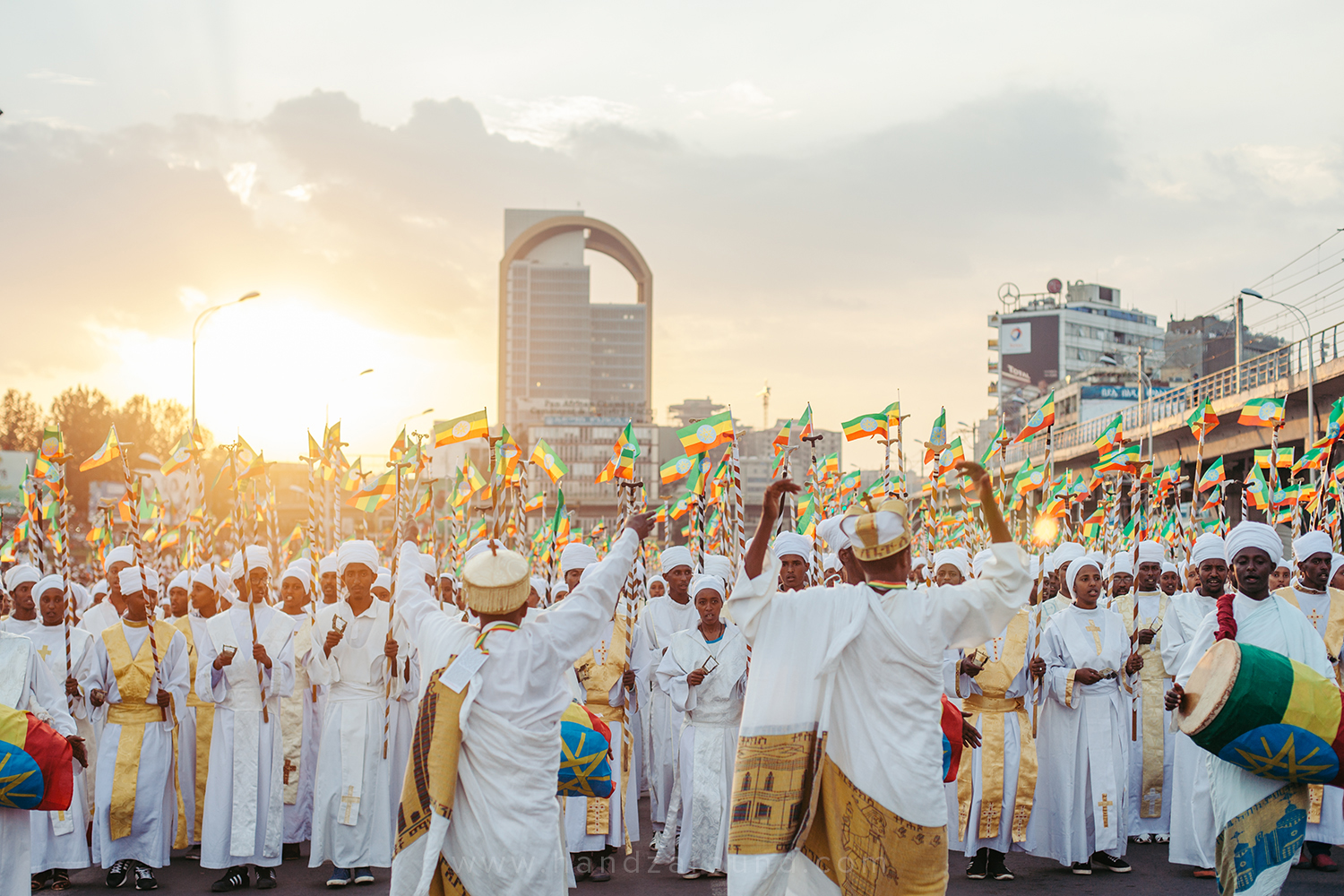 Meskel Festival in the heart of Addis