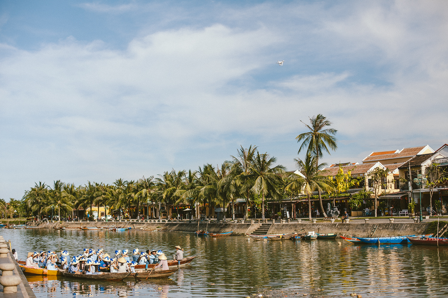 7. Hoi An,Vietnam - The beautifully preserved old town – we felt like we were taken back in time to the 1800's.Trying our hand at some local farming and fishing techniques with Hoi An Ecotourism.Seeing traditional Vietnamese performances free of charge in the old town.