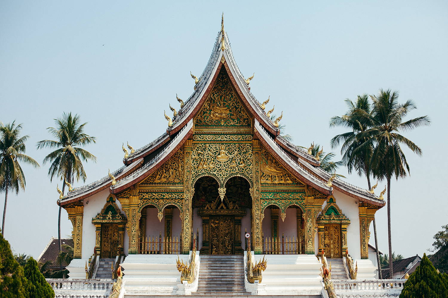 1. Luang Prabang, Laos - Kuang Si Waterfalls!The architectural beauty of the city.All our needs met in one place - affordable, beautiful, has a small party-scene, has cultural sights and natural sights.