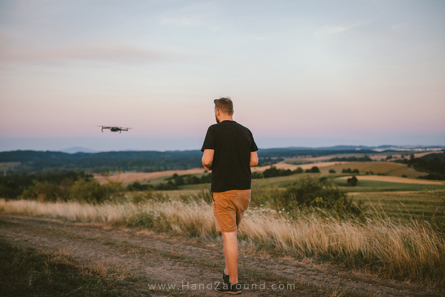 DJI Mavic Pro Drone - Zach taking the Mavic for it's maiden voyage through the hills of Hanna's hometown in Poland.
