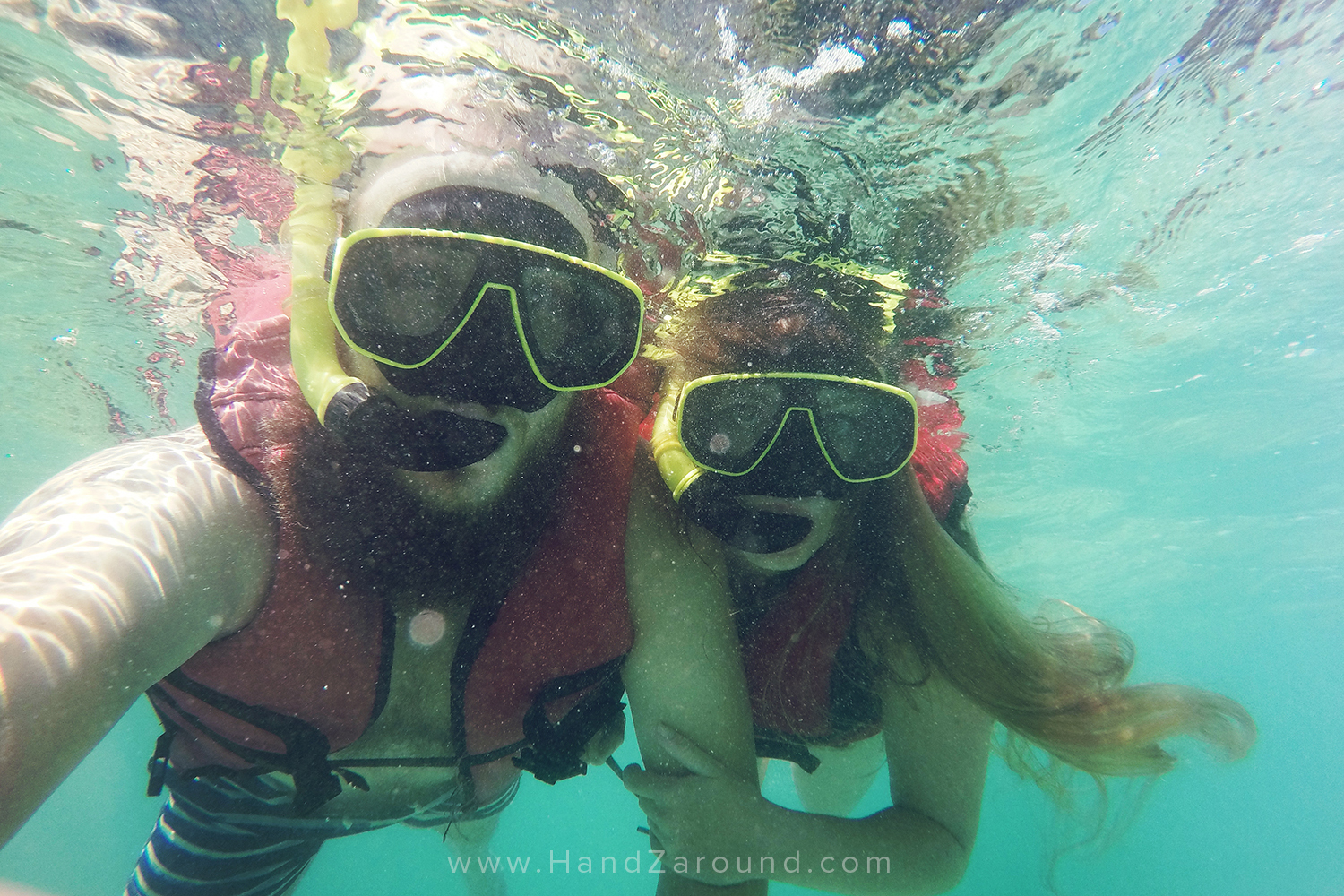 GoPro Hero 4 - Exploring the waters around Phi Phi Island in Thailand with our GoPro in hand.