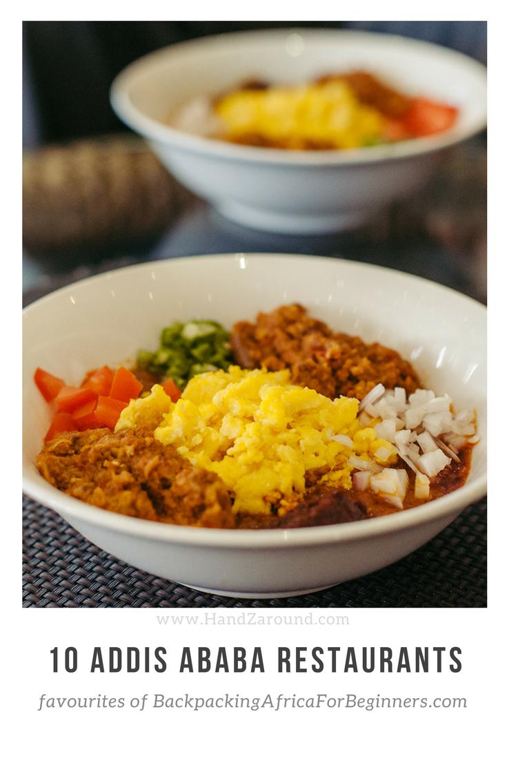 10 Addis Ababa Restaurants - Favourites of BackpackingAfricaForBeginners.Com   on HandZaround.com
