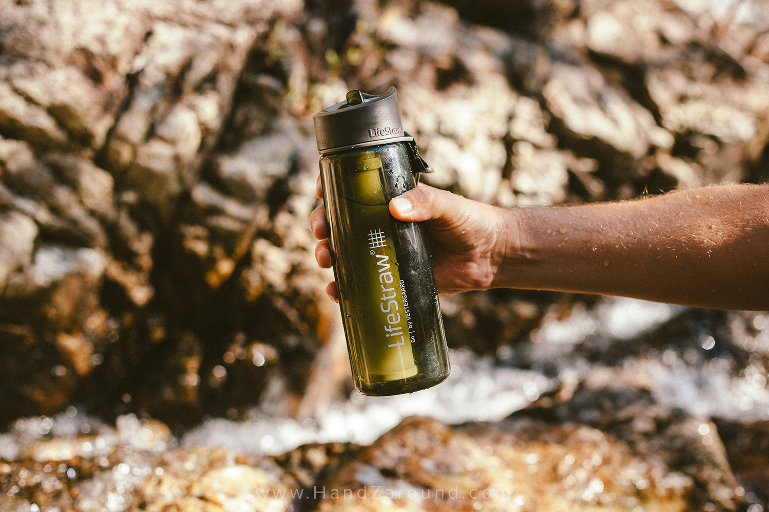 Our favourite thing in our backpacks - LifeStraw bottle!