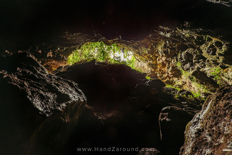 Inside the Mugongo Cave