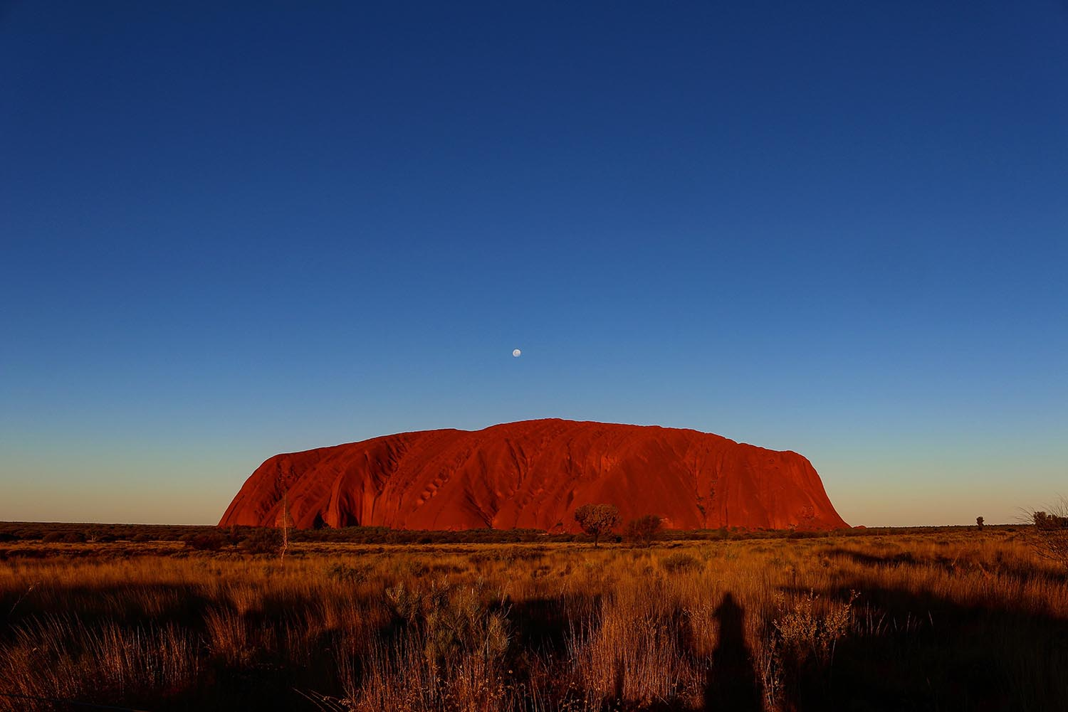 Ayers Rock or Uluru is sacred to to indigenous Australians. Image by Jason H.