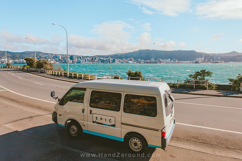Evans Bay Parade in Wellington