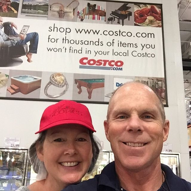 All smiles after selling out our 3 day road show in just 2 days at the Costco in Nampa Idaho! Way to go team Heritage Scones!