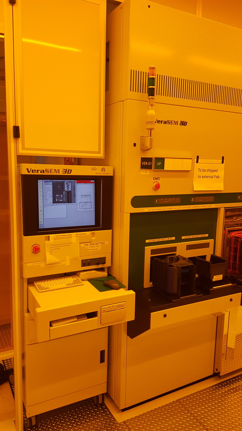 APPLIED MATERIALS (AMAT) VERASEM 3D AUTOMATED CD METROLOGY SYSTEM
