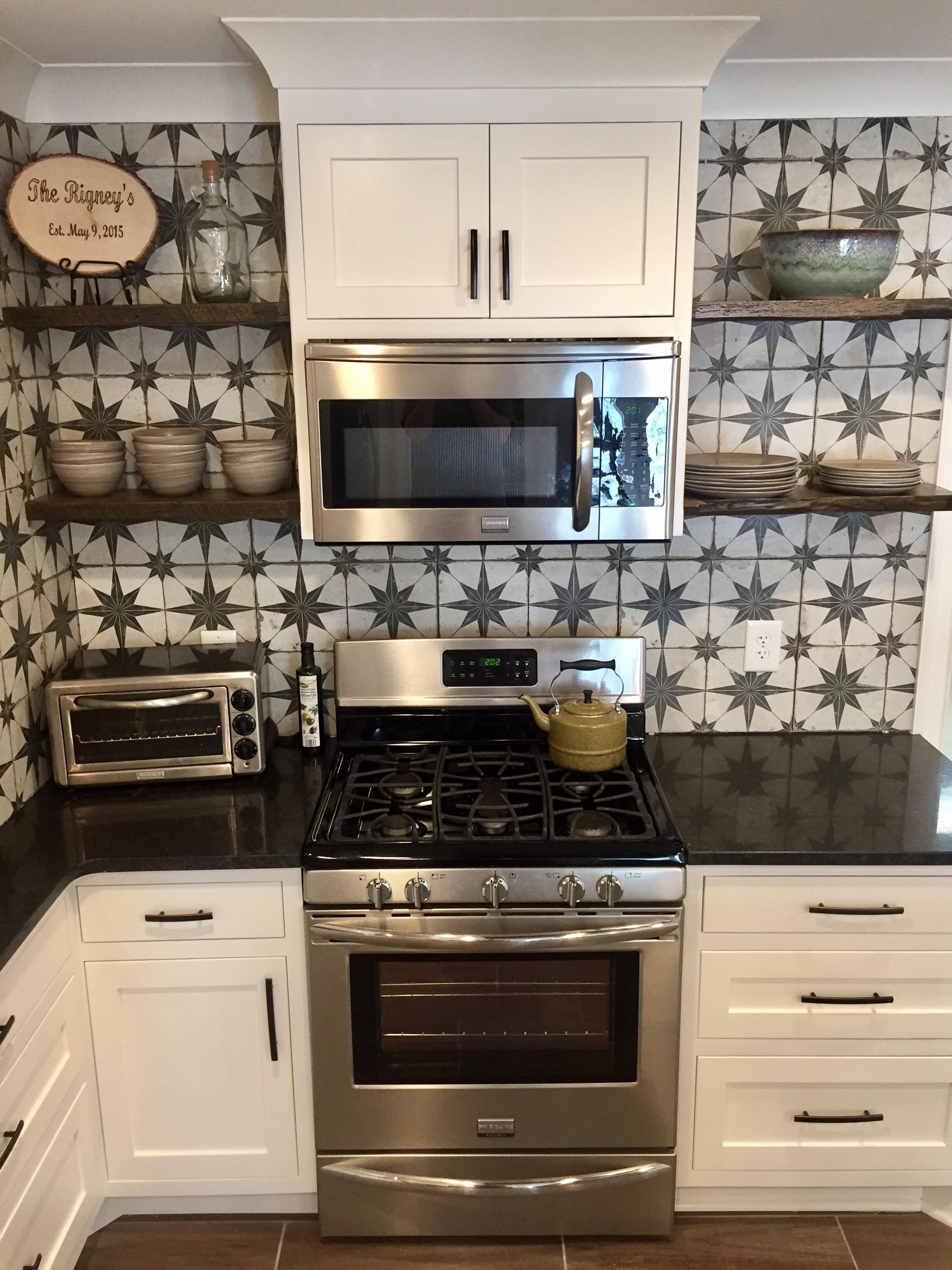 Shaker style custom cabinets