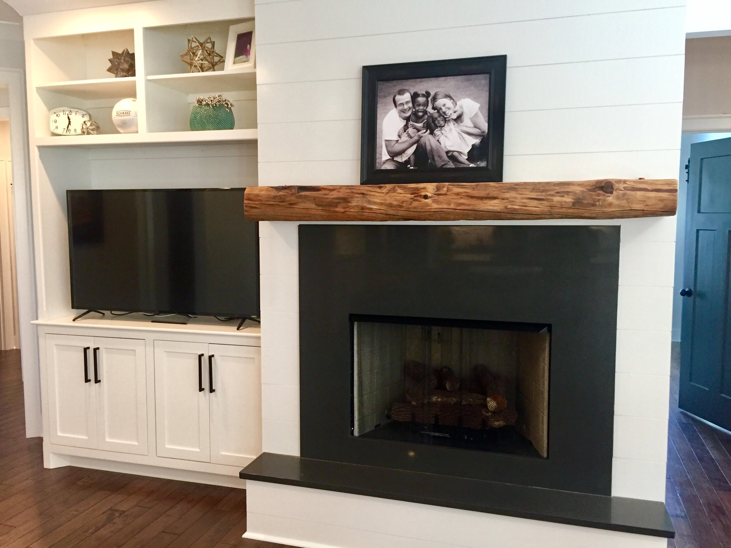Built-in and mantel