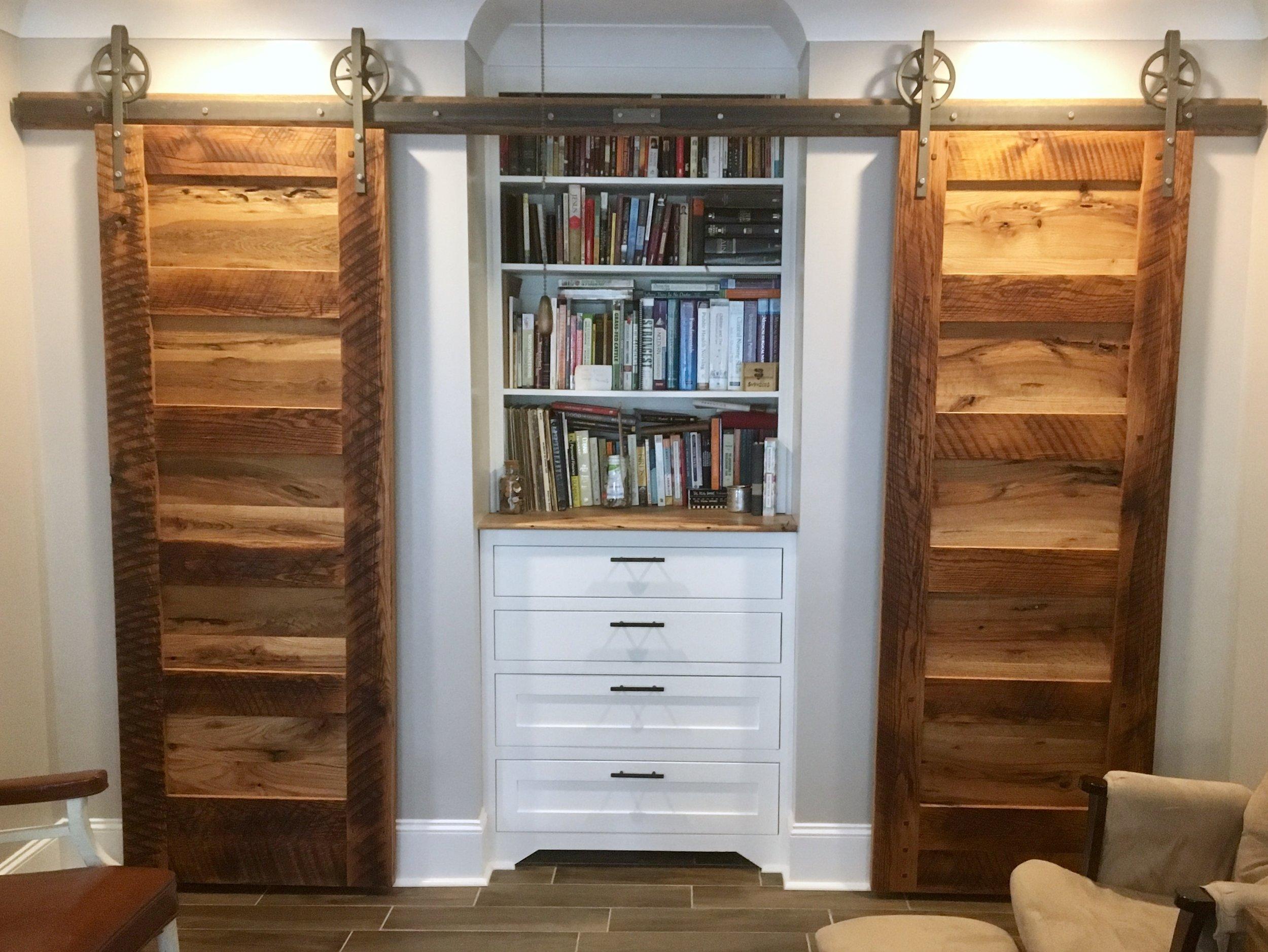 Reclaimed Oak Barn Doors
