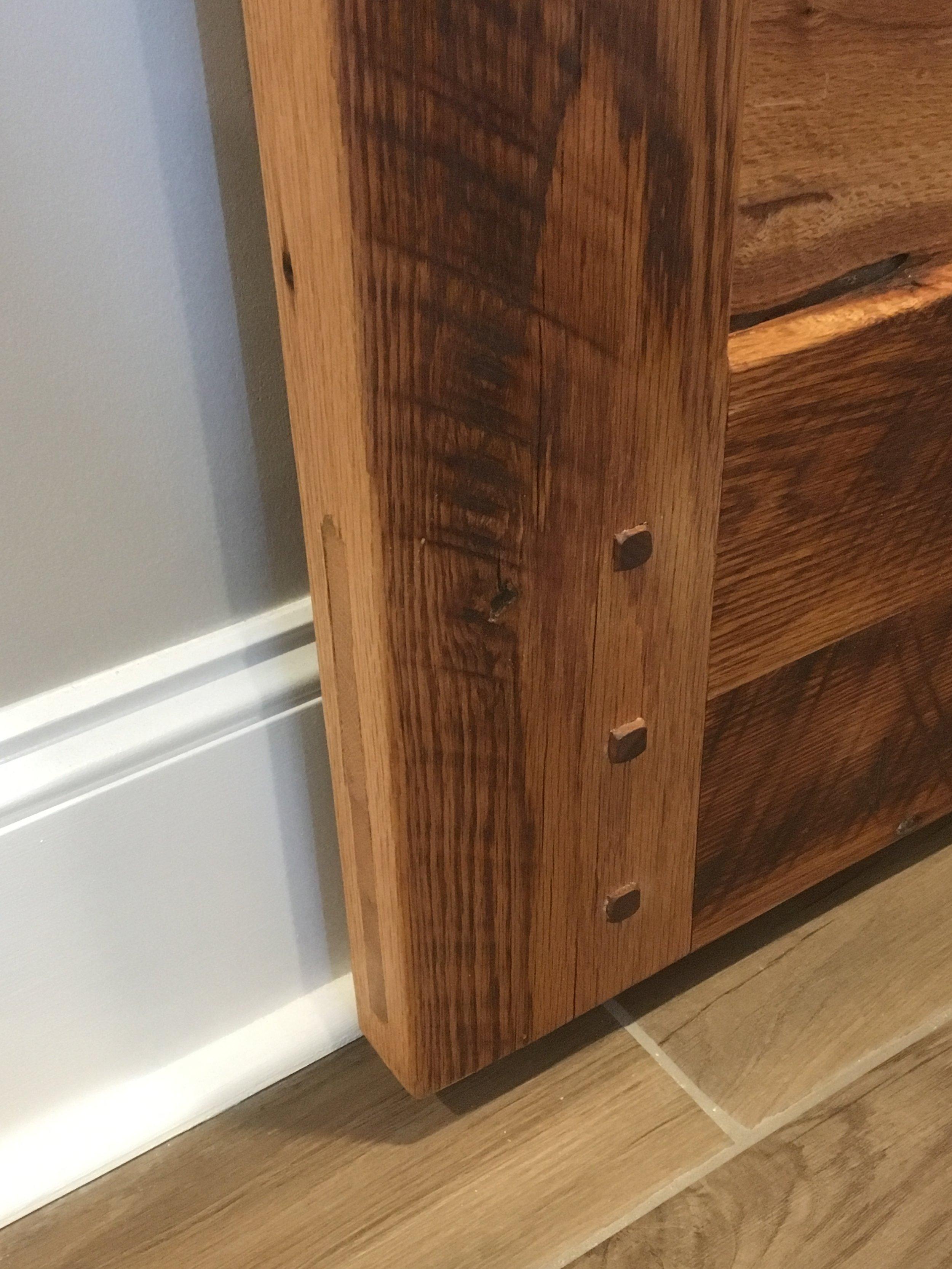 Oak Barn Door