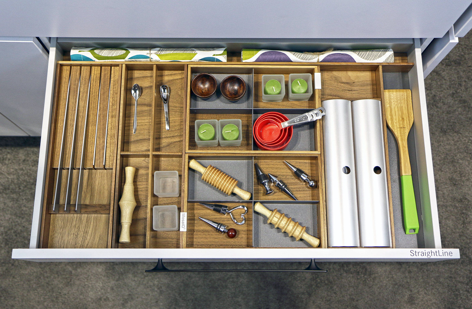 Straight Line Drawer Dividers